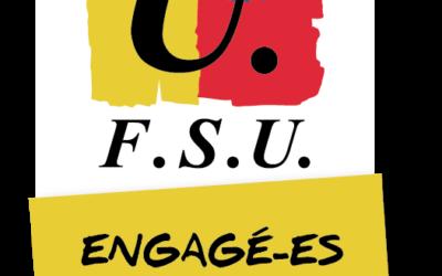 Communication aux adhérents des Syndicats Nationaux de la FSU 78