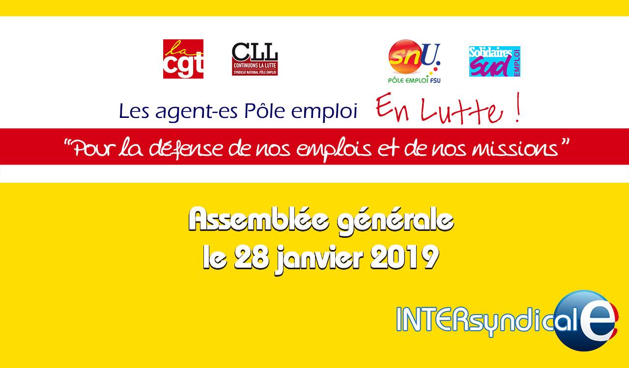 Assemblée générale le 28 janvier 2019